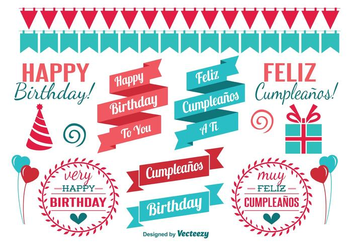 Birthday Design Elements