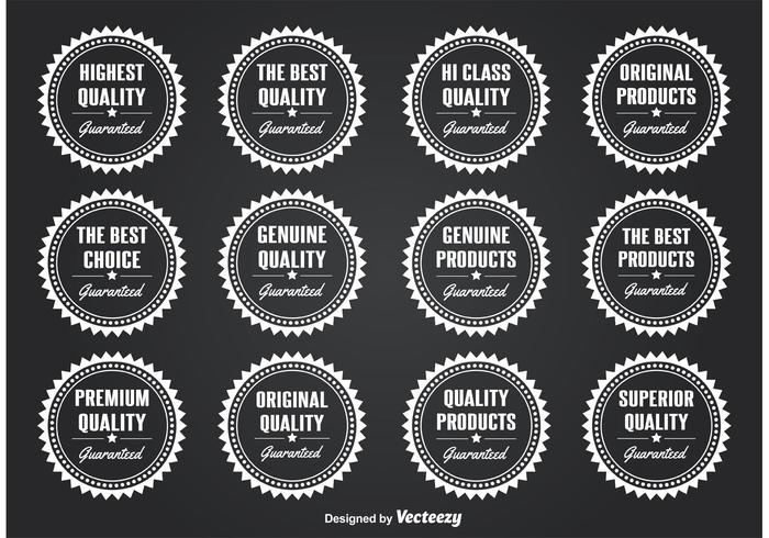 Selos / distintivos de qualidade