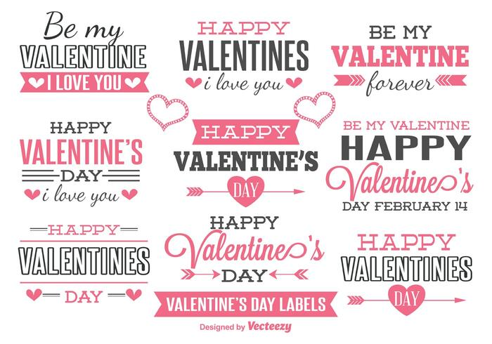 Valentines Day Labels  Download Free Vector Art Stock Graphics