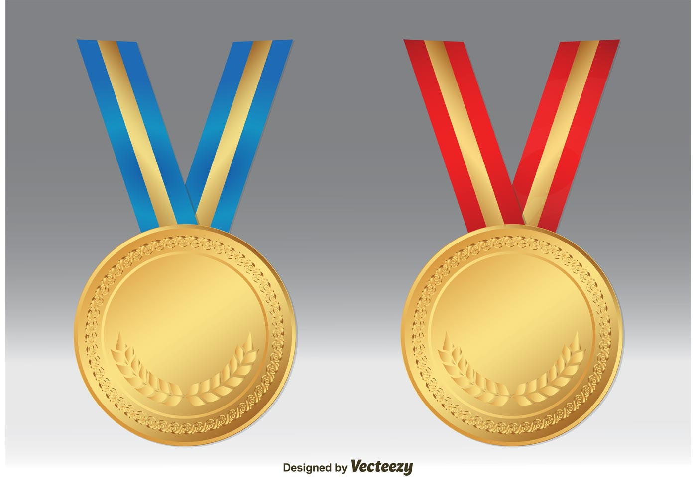 Gold Medal Vectors - Download Free Vector Art, Stock ...