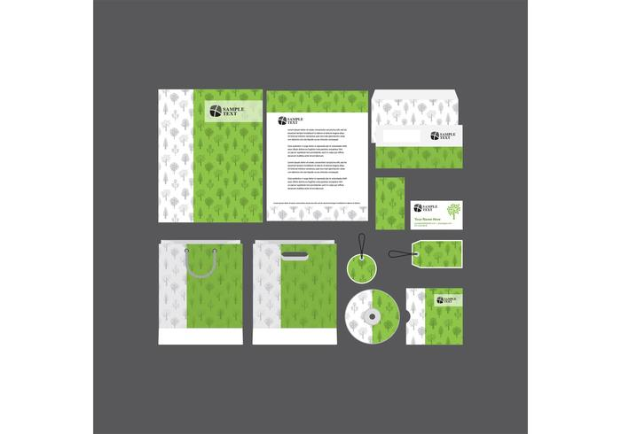Green Company Profile Template Vector Download Free Vector Art – IT Company Profile Template