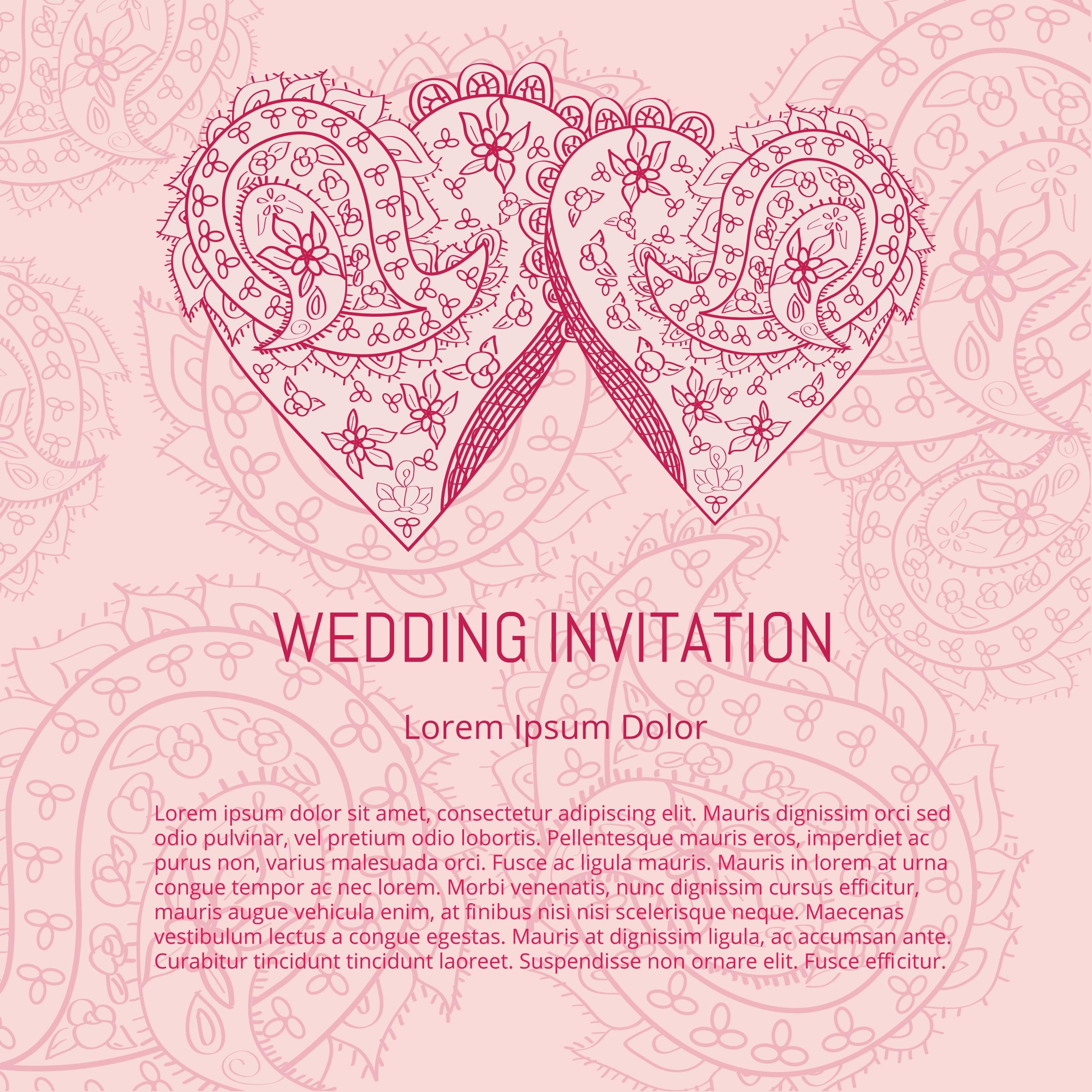 Indian Wedding Card Free Vector Art 8344 Free Downloads – Wedding Cards for Indian Wedding