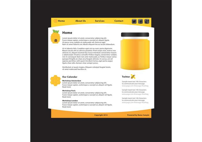 Natural Product Website Template