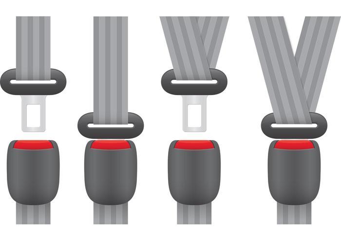 Seat Belt Vectors