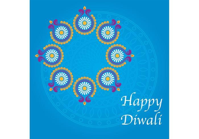 Happy Diwali Background vecteur