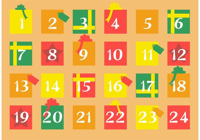 Calendario dell'Avvento del regalo