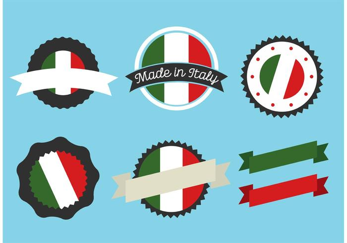Italian Badge Vectors