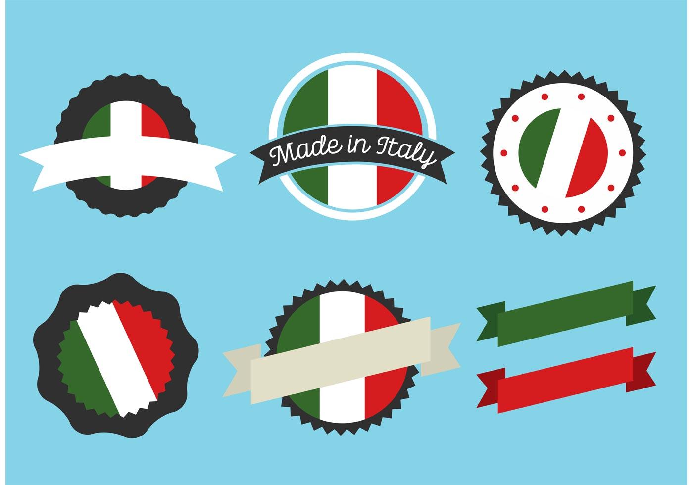 Italian Restaurant Logo With Flag: Download Free Vectors, Clipart