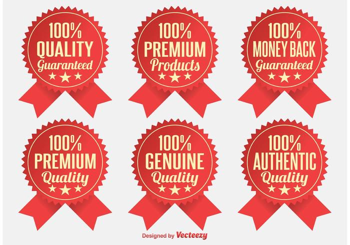 Premium-Qualitätsabzeichen