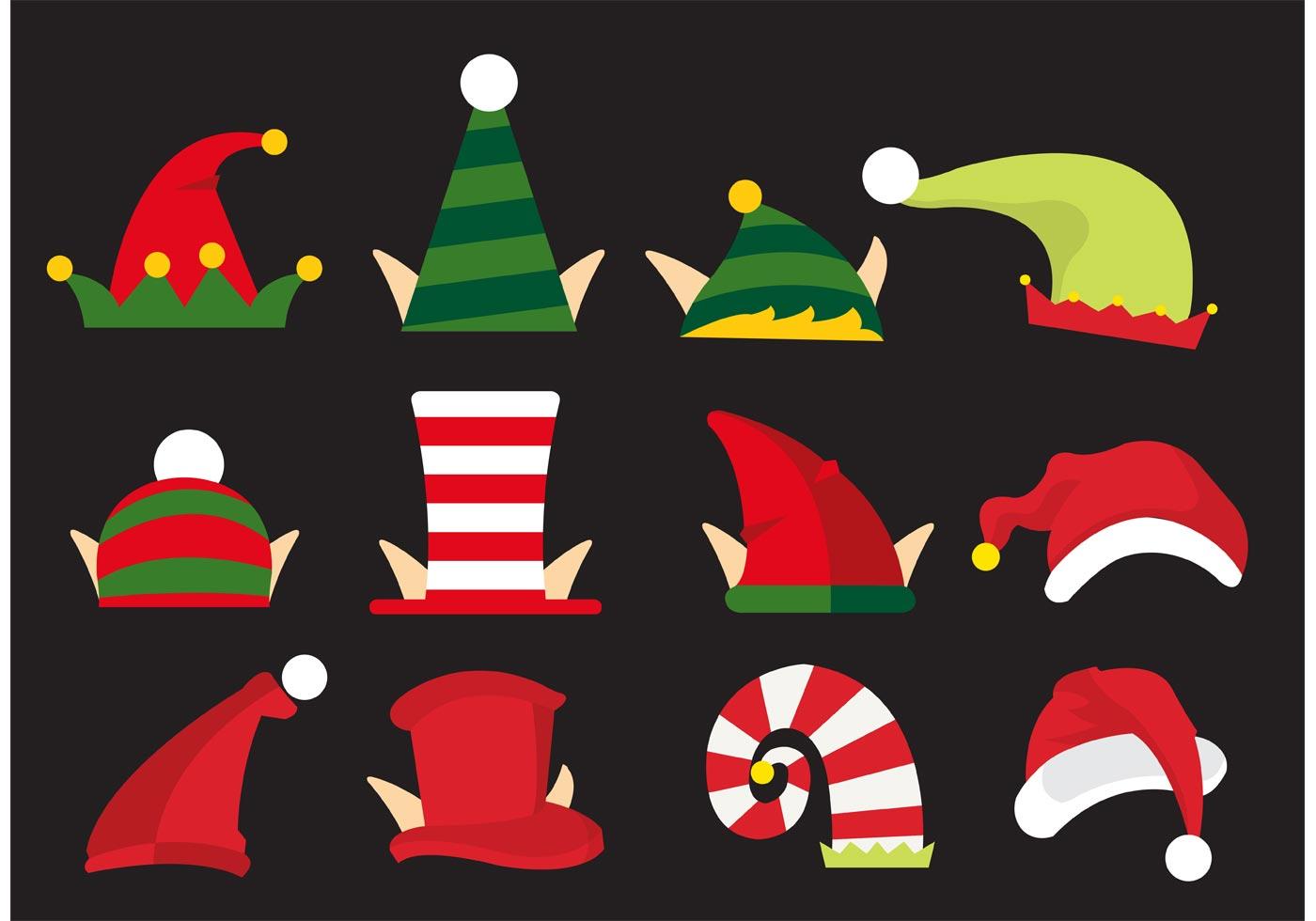 elves hat vectors download free vector art stock graphics images rh vecteezy com Black and White Elf Hat christmas elf hat vector