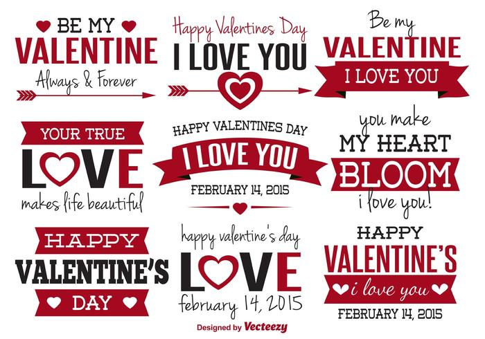 Valentine Day Label ValentineS Day Vector Labels ValentineS Day – Valentine Day Label