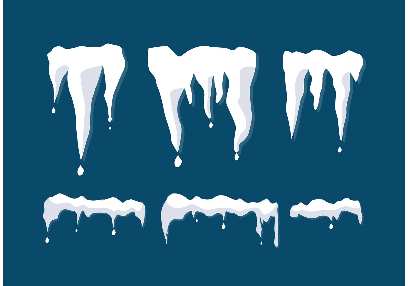 Melting Snow Vectors Download Free Vector Art Stock