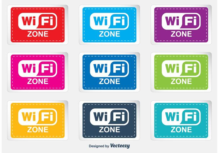 WiFi Zone Labels