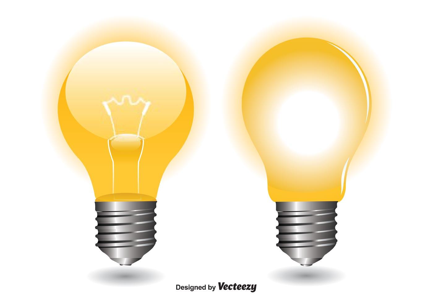Light Bulb Vectors Download Free Vector Art Stock Graphics Images