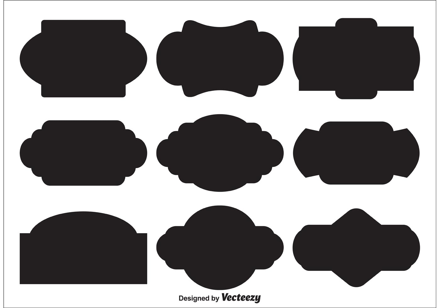 vector label shapes download free vector art stock graphics images