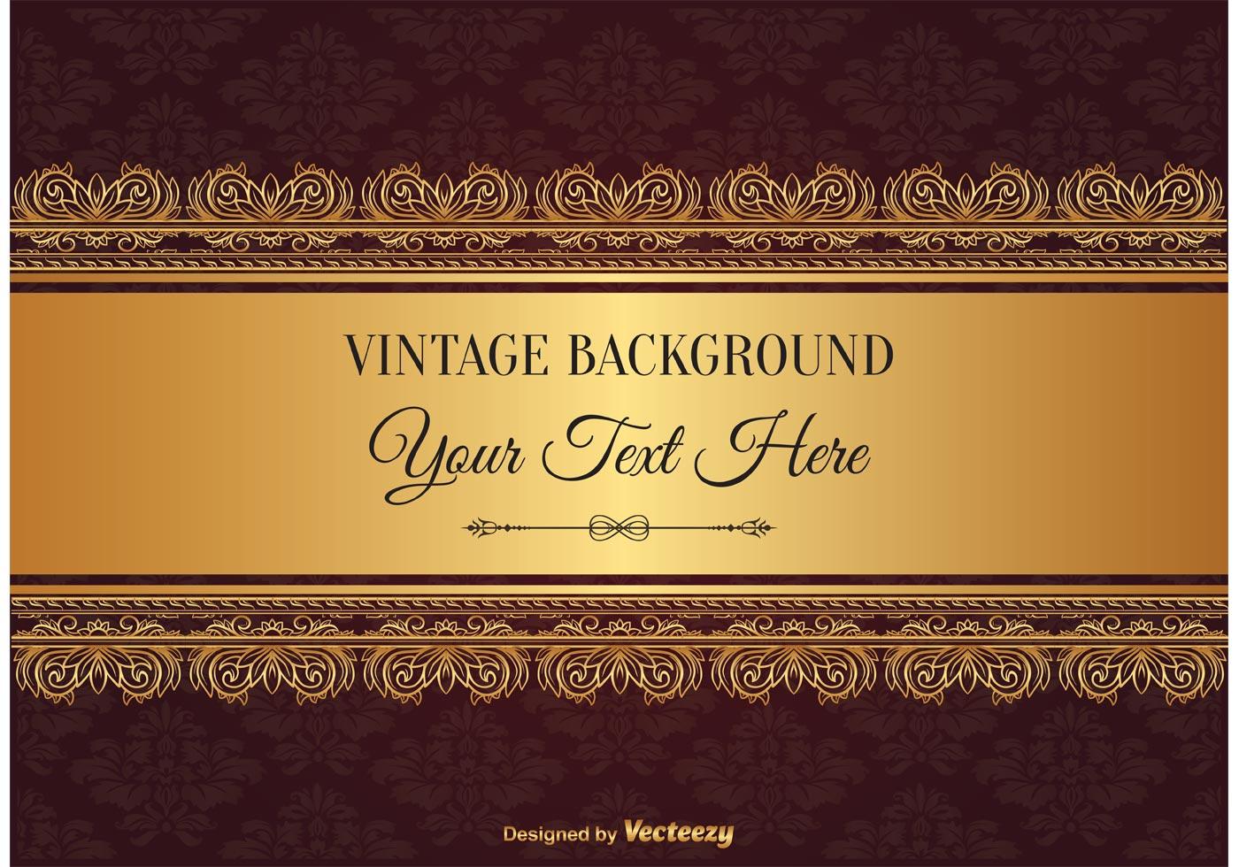 Elegant vintage style background download free vector art stock