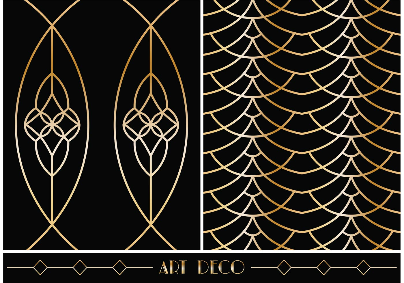 Free art deco geometric vector patterns download free Geometric patterns