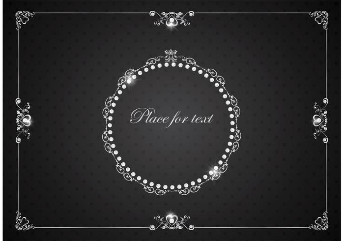 Free Vector Silver Luxury Vintage Frames