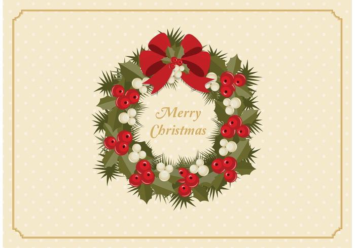 Advent Wreath Vector gratuito