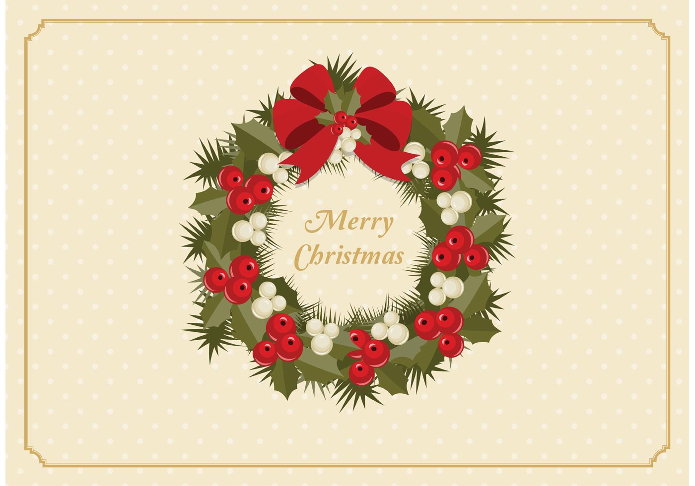 Christmas Wreath Silhouette Free.Christmas Wreath Free Vector Art 10 972 Free Downloads
