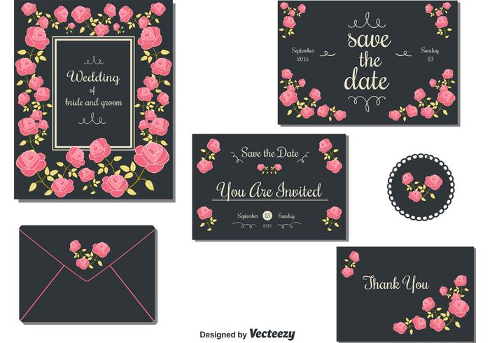Edit Wedding Invitation Card: Download Free Vector Art, Stock