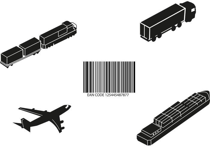 Cargo Transport Vector