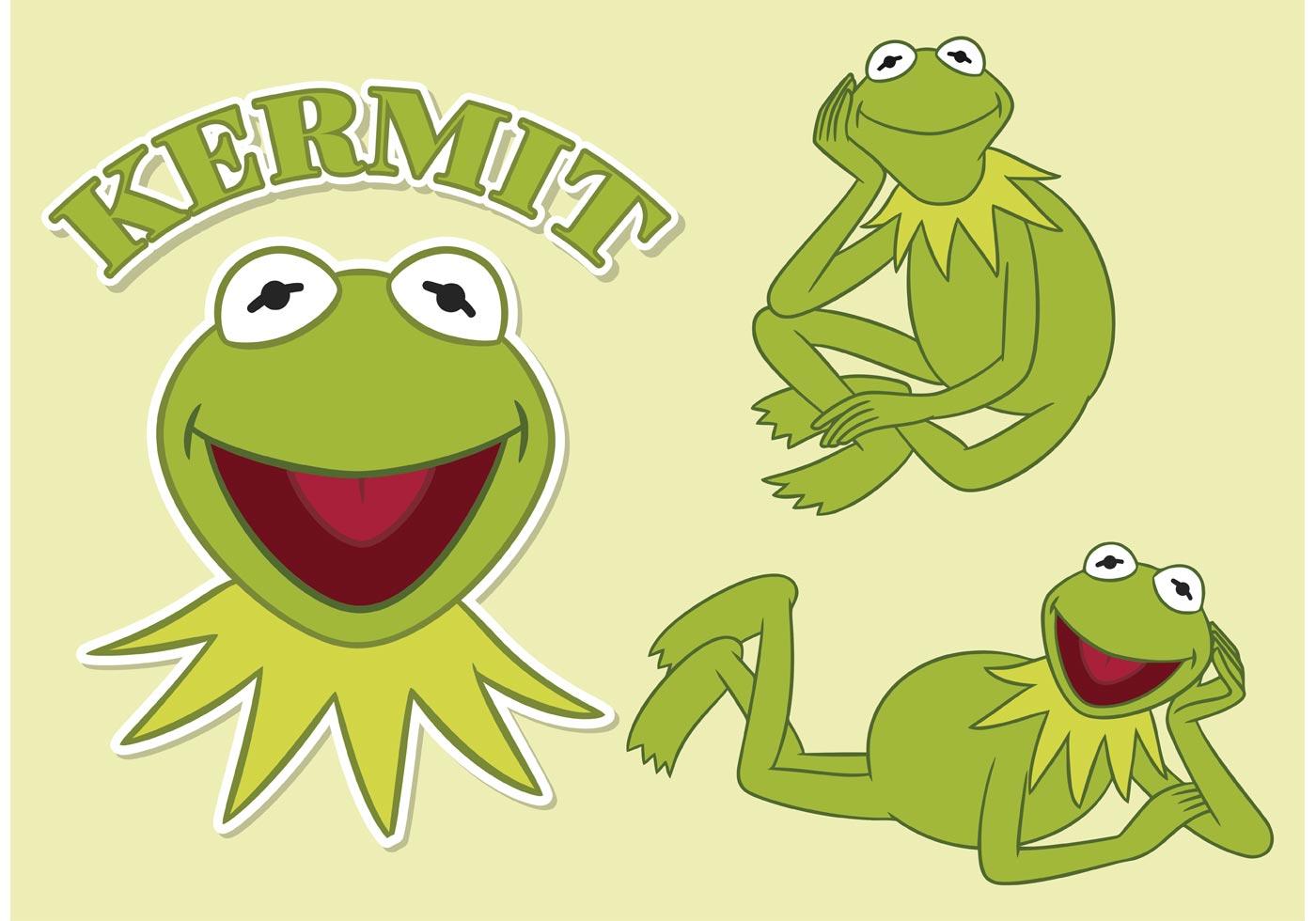 Free Vector Kermit The Frog Download Free Vector Art Stock