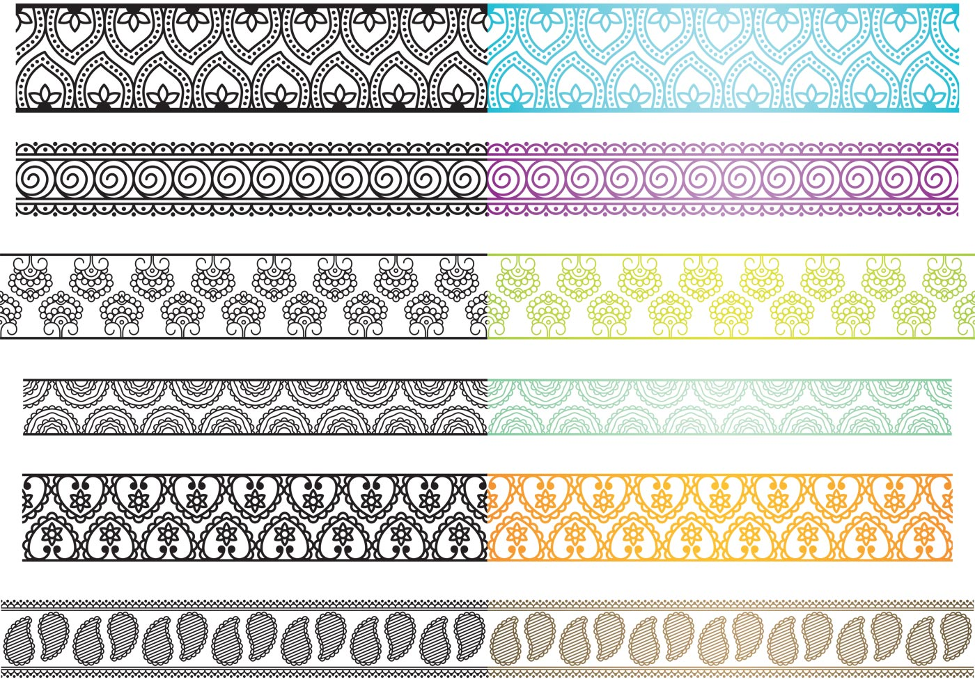 paisley borders   download free vector art stock graphics