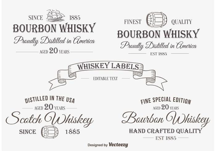 Whiskey Label / Insignias