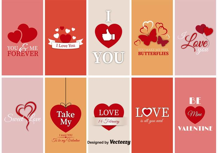 Saint Valentine Labels