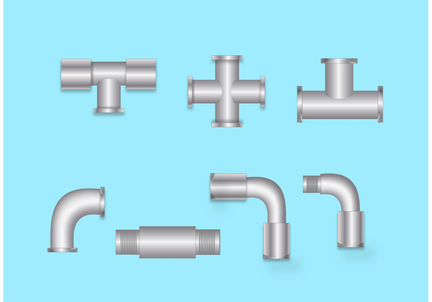 Sewer pipe fittings download free vector art stock for Sewer drain pipe