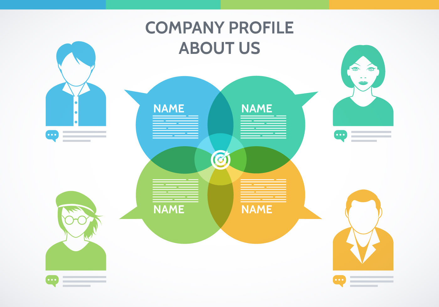 Company Profile Design 1278 Free Downloads – IT Company Profile Template