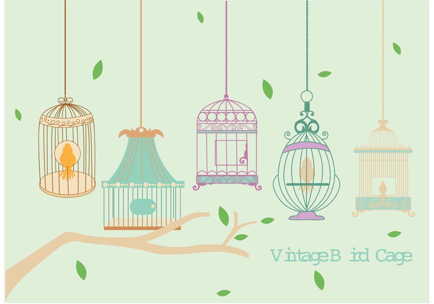 Vintage bird vector free download - photo#16