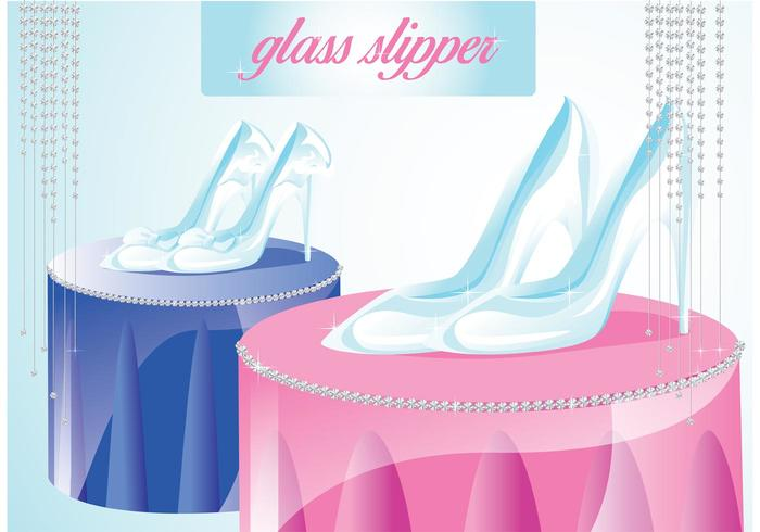 Glass Slipper Vector