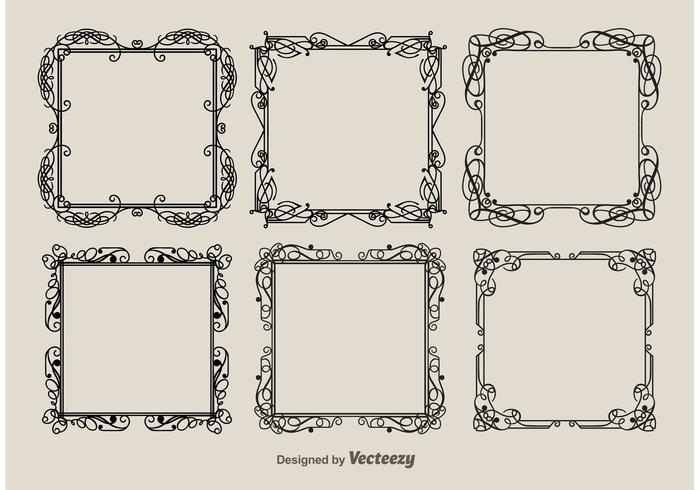 Vintage wedding elegant frames download free vector art stock vintage wedding elegant frames junglespirit Images