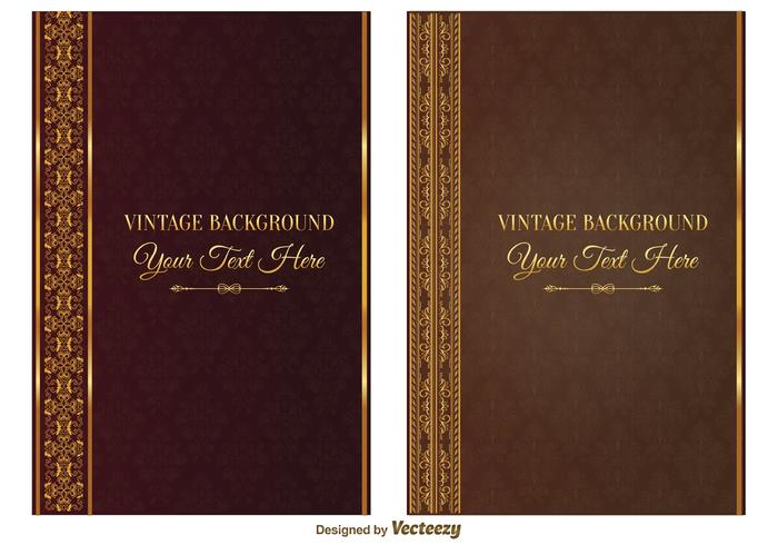 Book Cover Vector Art : Vintage book covers download free vector art stock