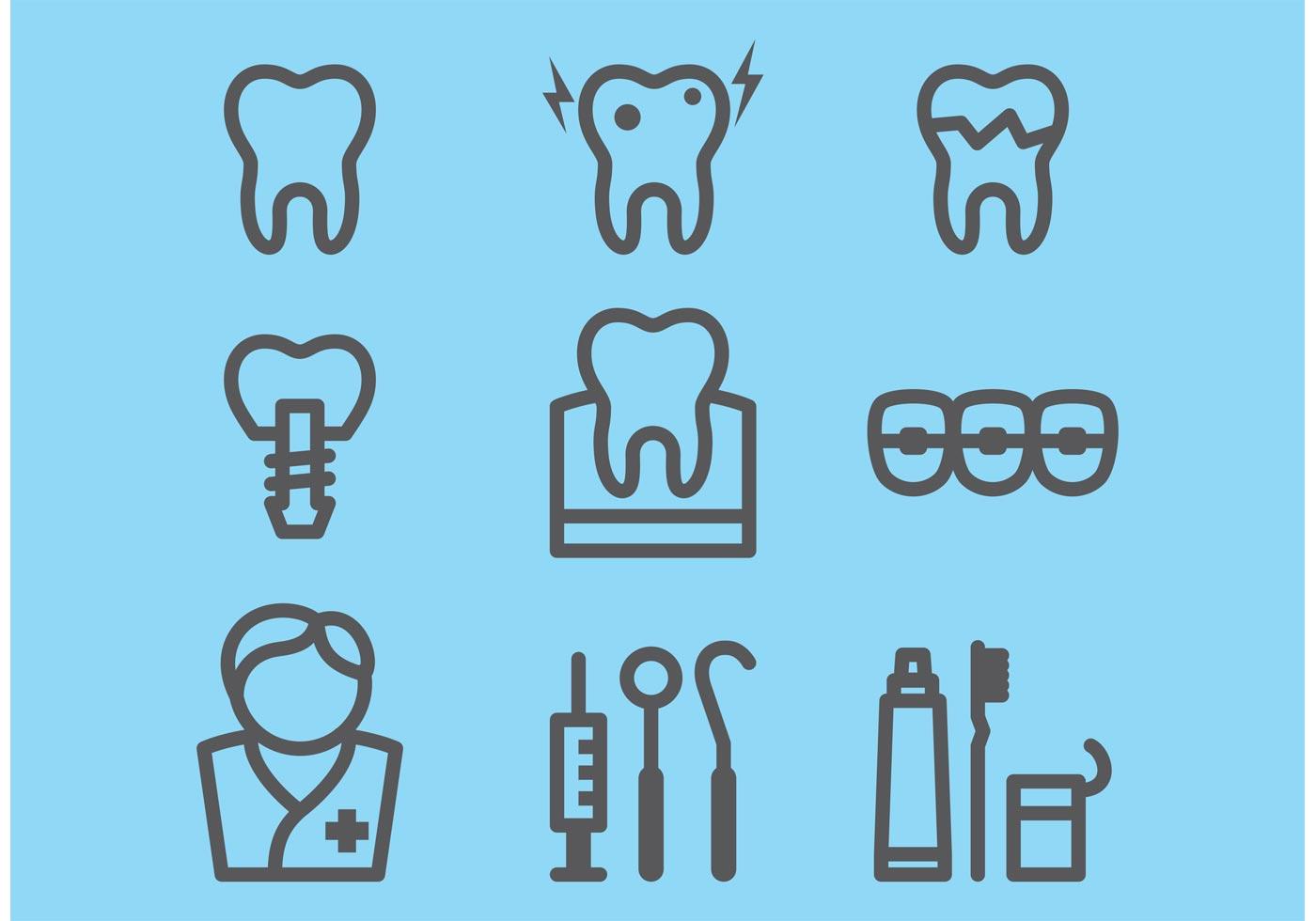Dental Icons Download Free Vectors Clipart Graphics