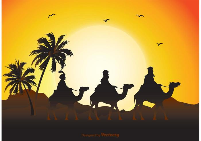 Illustration de Three Wise Men