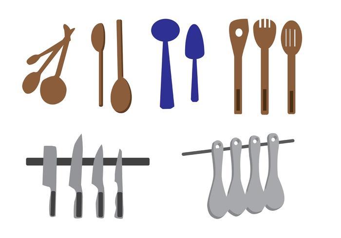 Vector Kitchen Utensils - Download Free Vector Art, Stock Graphics ...