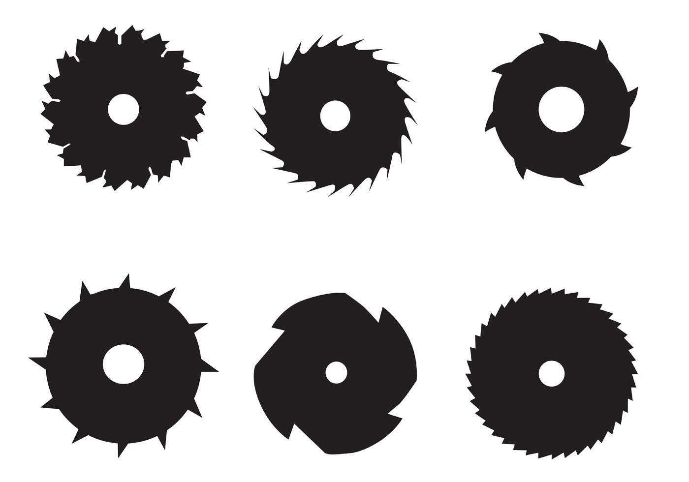 Circular Saw Blade Vectors Download Free Vector Art