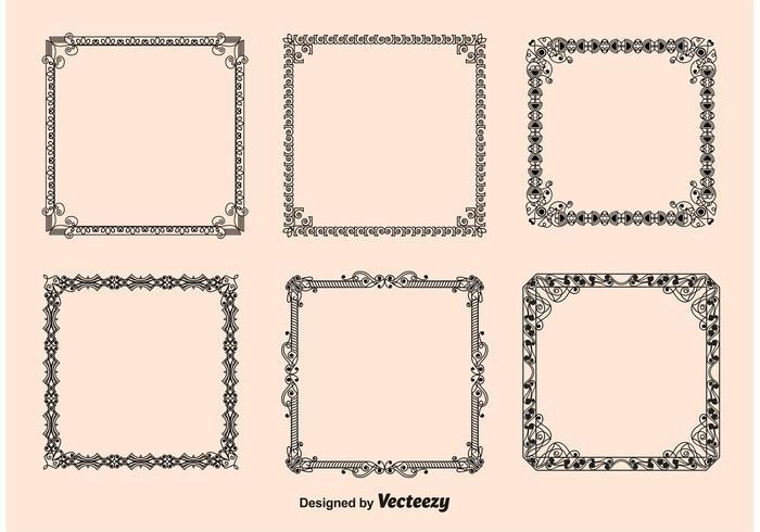 antique picture frames vector. Vintage Frames Vectors Antique Picture Vector T