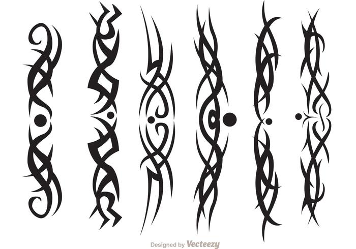 Hawaiian Tribal Vectors Pack