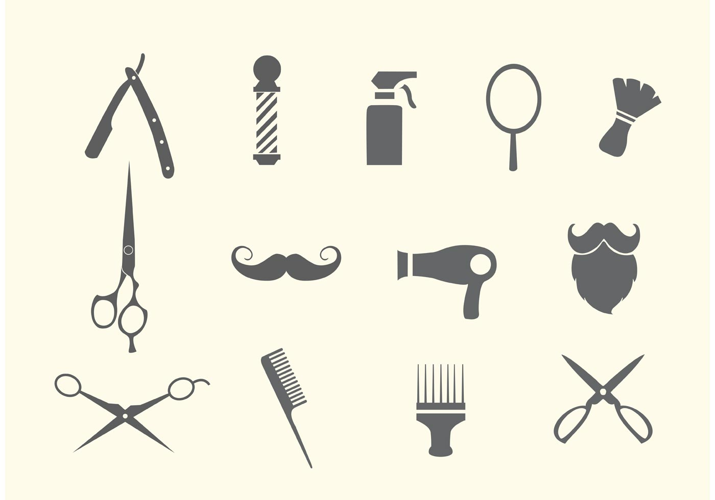 Barber Shop And Salon Vectors Download Free Vector Art