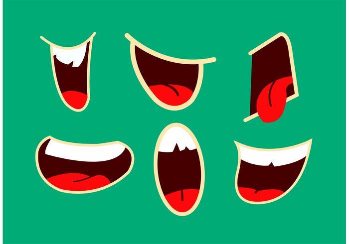 Mouth Talking Vectors