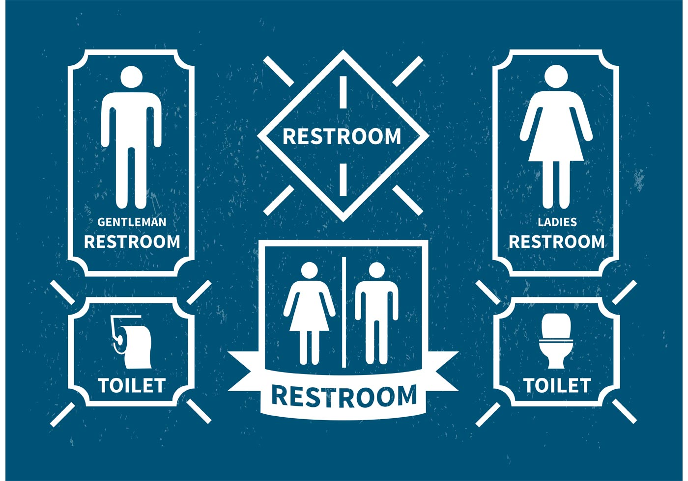 Rest Room Vector Icons Download Free Vector Art Stock