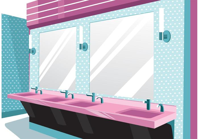 Rest Room Vector