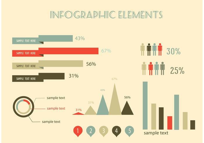 Vecteurs d'infographie gratuits