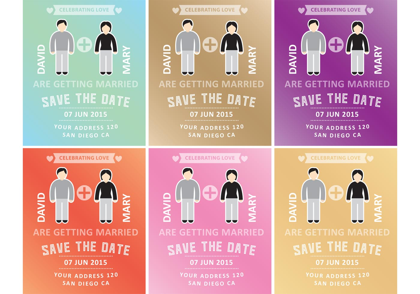 Marriage Invitation Templates - Download Free Vector Art, Stock ...