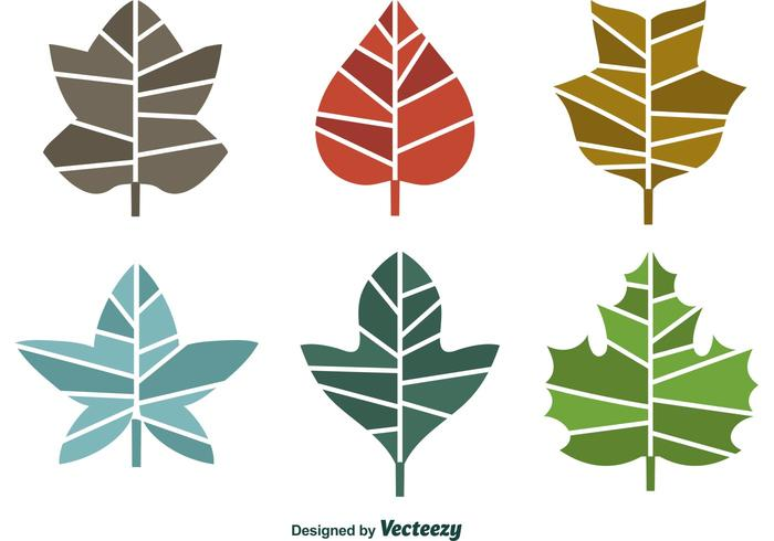 Seasonal Geometric Leaves