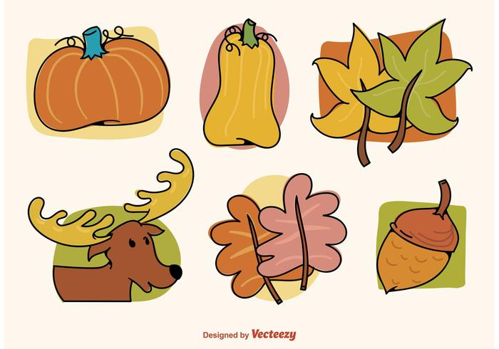 Autumn Illustrated Graphics